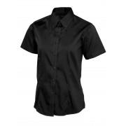 UC704 Ladies Short Sleeve Oxford Shirt