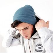 Knitted Cuffed Beanie Hat