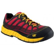 CAT Non Metallic Safety Trainer Red