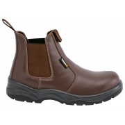 Fort Nelson Safety Dealer Boot Brown