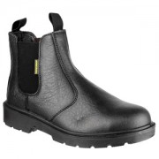 FS116 Black Safety Dealer Boot