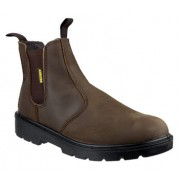 FS128 Brown Safety Dealer Boot
