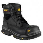 CAT Gravel Black Safety Boots