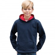 JH003 Kids Two Tone Hoody
