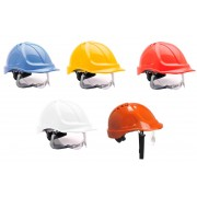 PW55 Safety Helmet With Retractable Eyeshield