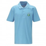 Bedwas High Sky Blue PE Polo Shirt Kids Sizes