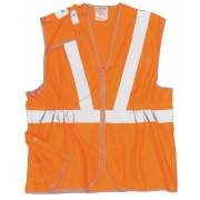 Hi Vis Long Length Rail Vest