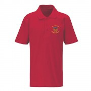 St Paul's Primary Red Polo Shirt