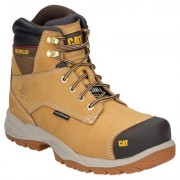 CAT Spiro Waterproof Safety Boot Tan