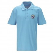 St Mary's Primary Sky Blue Polo Shirt