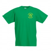 St Albans Primary P.E TShirt Green
