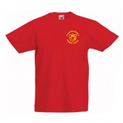St Albans Primary P.E TShirt Red
