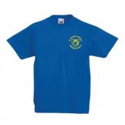 St Albans Primary P.E TShirt Blue