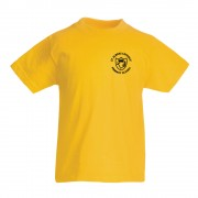 St Albans Primary P.E TShirt Yellow