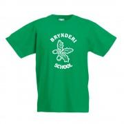 Bryn Deri Primary P.E TShirt Green