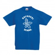 Bryn Deri Primary P.E TShirt Blue