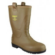 FS95 Tan Waterproof Pvc Rigger Boot
