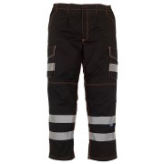 YK073 Hi Viz Cargo Trouser
