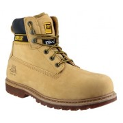CAT Holton Safety Boot Honey