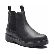Black Dealer Safety Boot