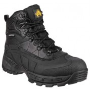 FS430 Black Waterproof  Safety Boot