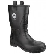 FS90 Black Waterproof Pvc Rigger Boot