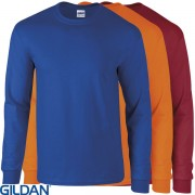 GD014 Gildan Ultra Cotton Long Sleeve T Shirt