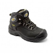 HK1 Black Hiker style Safety Boot