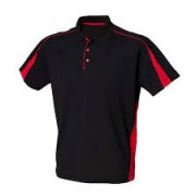 LV322  Contrast Polo Shirt