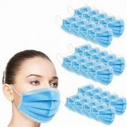 Disposable Medical 3 Ply Face Mask Box of 50