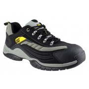 CAT Moor Black Safety Trainers