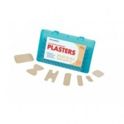 Plasters Box of 100 Washproof