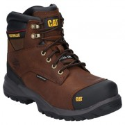 CAT Spiro Waterproof Safety Boot Brown