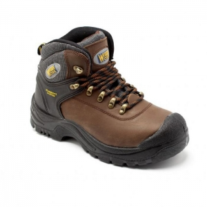 HK2 Brown Hiker style Safety Boot