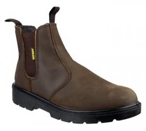 FS128 Brown Safety Dealer Boot