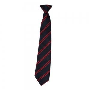 St Martins School Tie Black/Red