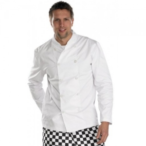 C836 Chef's Button Front Jacket