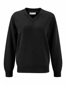 Blue Max V Neck Sweatshirt