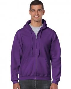 GD058 Gildan Zip Up  Hooded Sweatshirt
