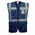 YK002 Hi Vis Executive Waistcoats