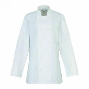 PR671 Lady's Long Sleeve Chef's Jacket