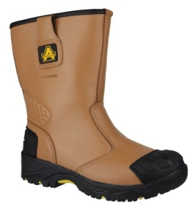 FS143 Safety Rigger Boot With Scuffguard