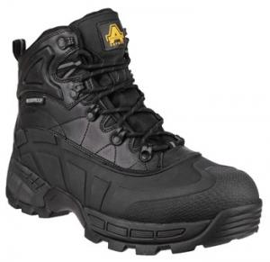 FS430 Black Waterproof  Safety Boot