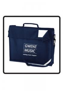 Gwent Music Script Bag With Shoulder Strap