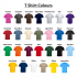 SS030 Fruit Of The Loom Value T Shirt