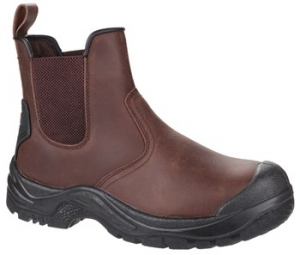 AS200 Brown Safety Dealer Boot