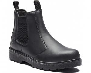 Black Dealer Safety Boot