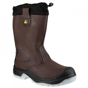 FS219 Brown Rigger Boot