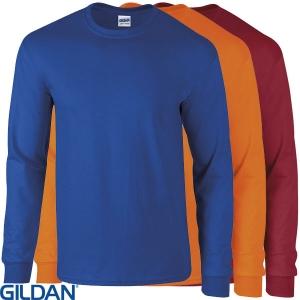 GD014 Gildan Ultra Cotton Long Sleeve T Shirt