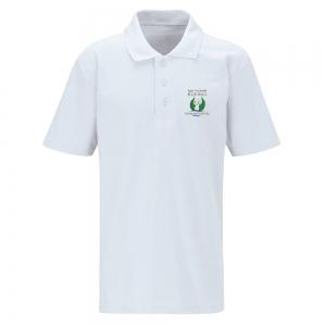 Bedwas High White Polo Shirt Kids Sizes